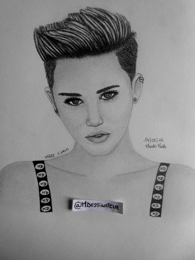 Miley Cyrus by MisterDessinateur45